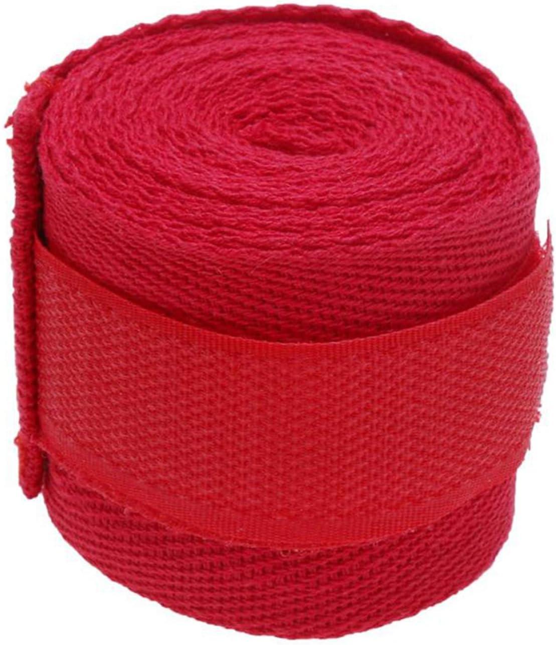 Tiamu 1 Pc 2.5M Eslatic Cotton Sports Strap Boxing Bandage For Sanda Muay Thai Mma Taekwondo Hand Gloves Wraps