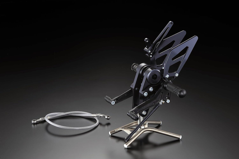 4ポジションステップキット ブラック for DUCATI NEW MONSTER M696シリーズ   B00D05D62Q