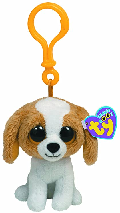 90a029d9ade Amazon.com  Ty Beanie Boos - Cookie-Clip the Dog  Toys   Games