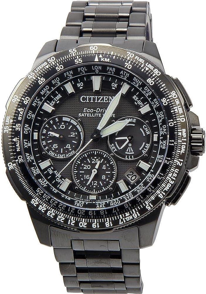 Citizen Men s CC9025-85E Navi Series Analog Display Japanese Quartz Black Watch