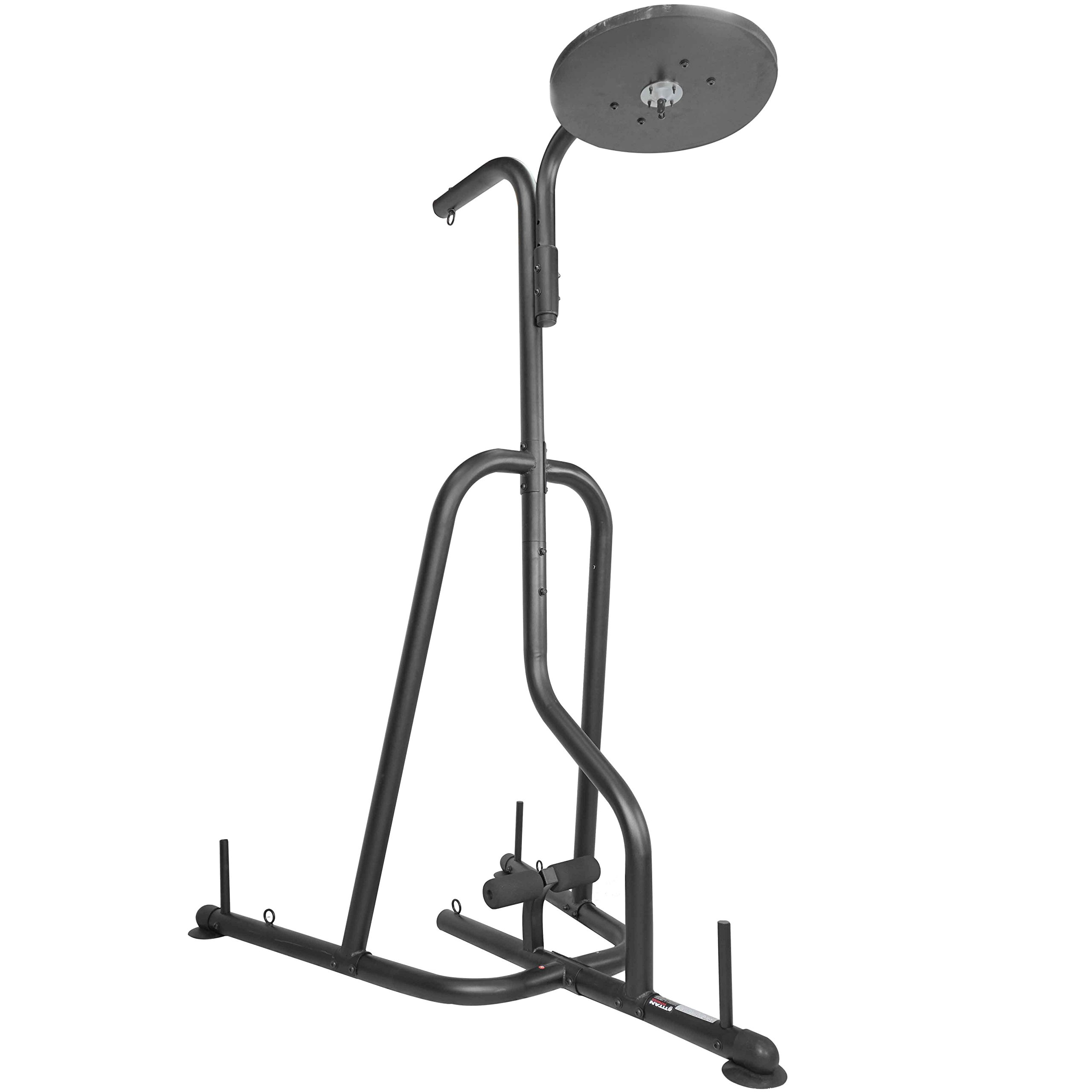 Titan Dual Station Boxing Stand For Speed & Heavy Bag MMA Kick Punching Training by Titan Fitness (Image #4)
