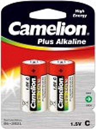 Camelion 11000214 - Pack de 2 Pilas alcalinas, 1.5 V: Amazon.es ...