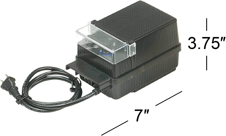 150 WATT 12V LOW VOLTAGE LANDSCAPE LIGHTING TRANSFORMER
