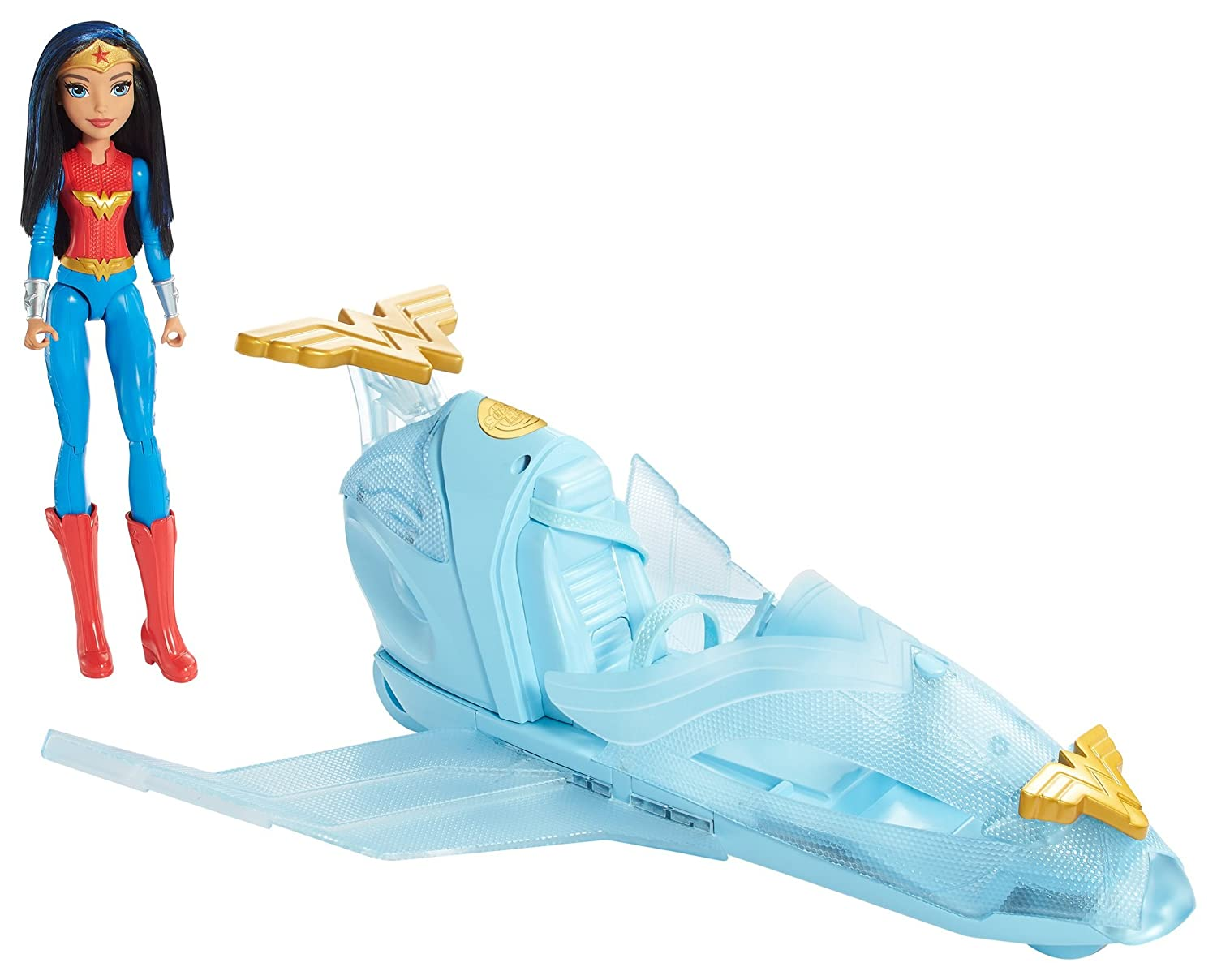 Low Cost Dc Super Hero Girls Wonder Woman Doll Invisible Jet Spy Escape 8638
