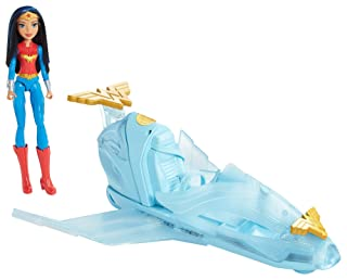 DC Super Hero Girls Wonder Woman Doll and Invisible Jet Fisher Price / Mattel Canada DYN05