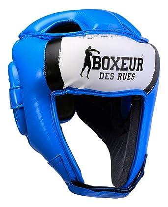 BOXEUR DES RUES Bxt-hg05 Casco Boxeo competici/ón con Logo Unisex Adulto