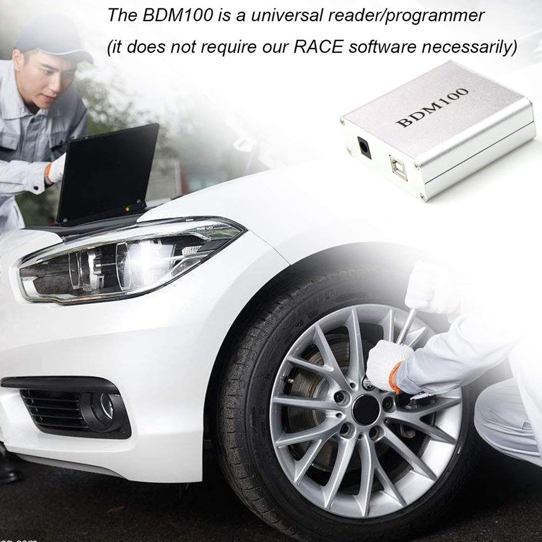 ToGames Universal BDM 100 Chip Reader ECU Tuning Programmer BDM100 Chip Turning Tool Interfaz de diagn/óstico BDM