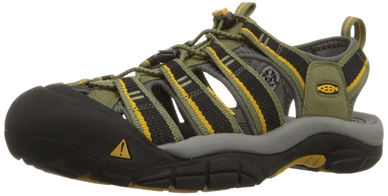 KEEN Men's Newport H2 Sandal B00ZG2W7LC 7 D(M) US|Burnt Olive/Golden Yellow
