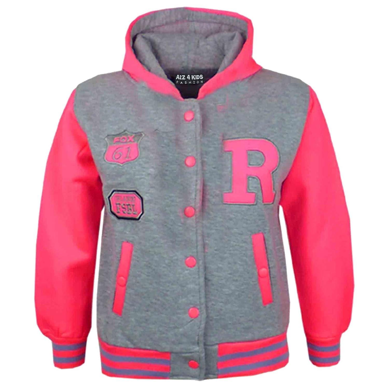 372a4115c3a1 A2Z 4 Kids Kids Girls Boys R Fashion NYC FOX Baseball Hooded Jacket ...