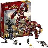 LEGO 乐高  拼插类 玩具  Super Heroes 超级英雄系列 反浩克装甲 76104 7-14岁