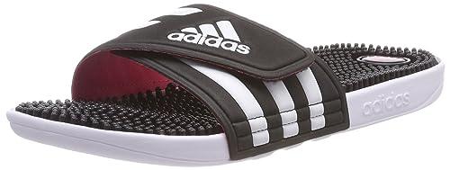 huge selection of 877e1 5ea13 Adidas Adissage W, Zapatos de Playa y Piscina para Mujer, Negro (Negbas
