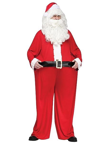 Amazon.com: Grasa de Papá Noel disfraz de os para hombres ...