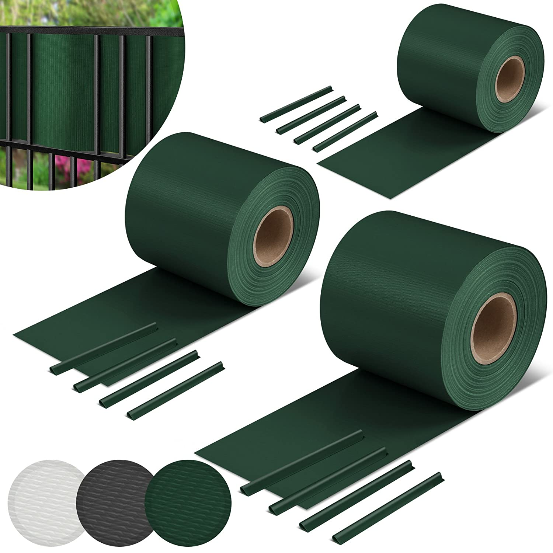 Jago Protezione frangivento frangivista telo recinzione protezione vista per balcone 35 m colore verde set da 1 SSWD06grun