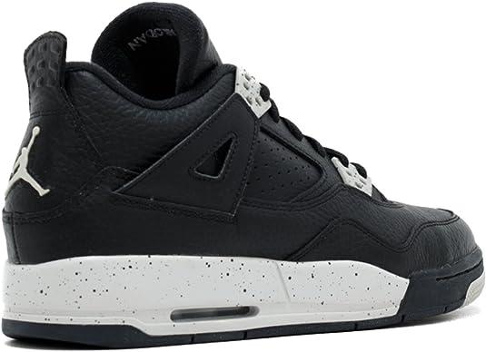 Air Jordan 4 Retro BG 'Oreo'