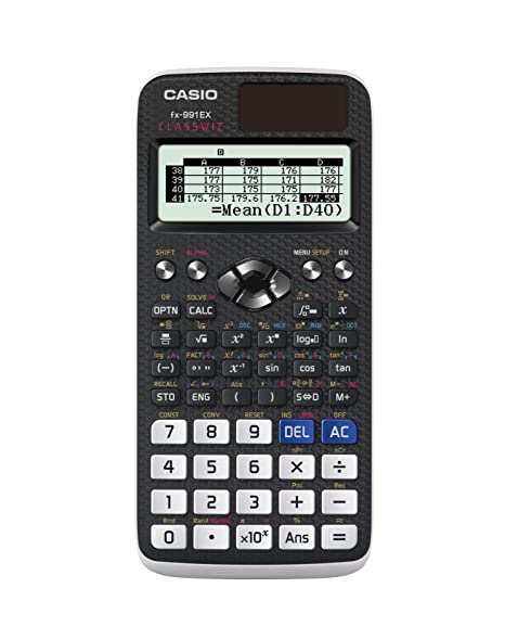Casio Fx-991Ex Advanced Scientific Calculator