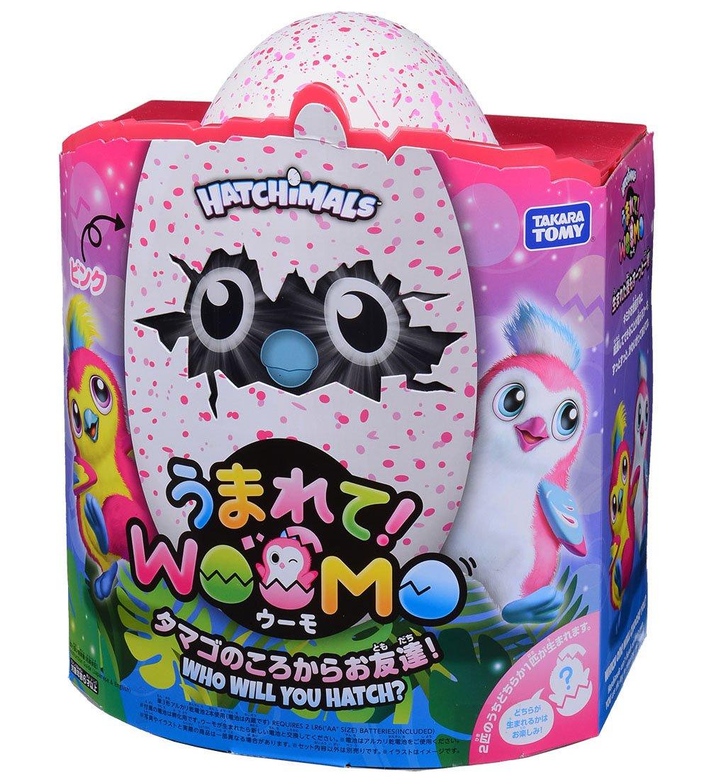 在庫あり ピンク&パープル WOOMO 通販 タカラトミー うまれて! TAKARA TOMY 生まれて ウーモ プレゼント うーも キララメガーデン