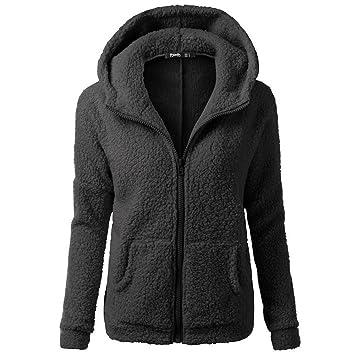 Womens Winter Hooded Long Sleeve Cotton Coat Outwear Pocket SFE-hoodies Warm Hoodie