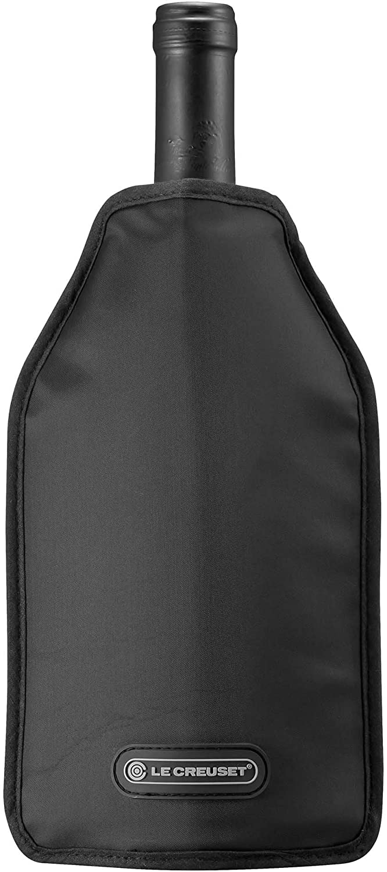 Le Creuset WA126L-31 Wine Cooler Sleeve, Black Le Creuset of America