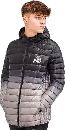 Kings Will Dream   KWD Abasi Kids Junior Puffer Fade Hood Jacket