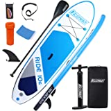 """ACOWAY Paddleboard Inflatable, 10'6 ×32""""×6"""" - Paddle Boards for Adults & Youth, Inflatable SUP Stand up Paddle Board Accessor"""