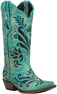 Amazon.com | Black Star ZAVALA (Black) Women's Cowboy Boots | Boots