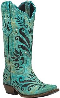 328d78d1751 Amazon.com | Black Star Duval (Tan) Women's Cowboy Boots 8 | Boots