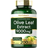 Olive Leaf Extract Capsules 9000mg | 200 Count | Super Strength Supplement | Non-GMO, Gluten Free | by Horbaach