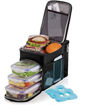 Versal insulated Prep meals lunch box for men