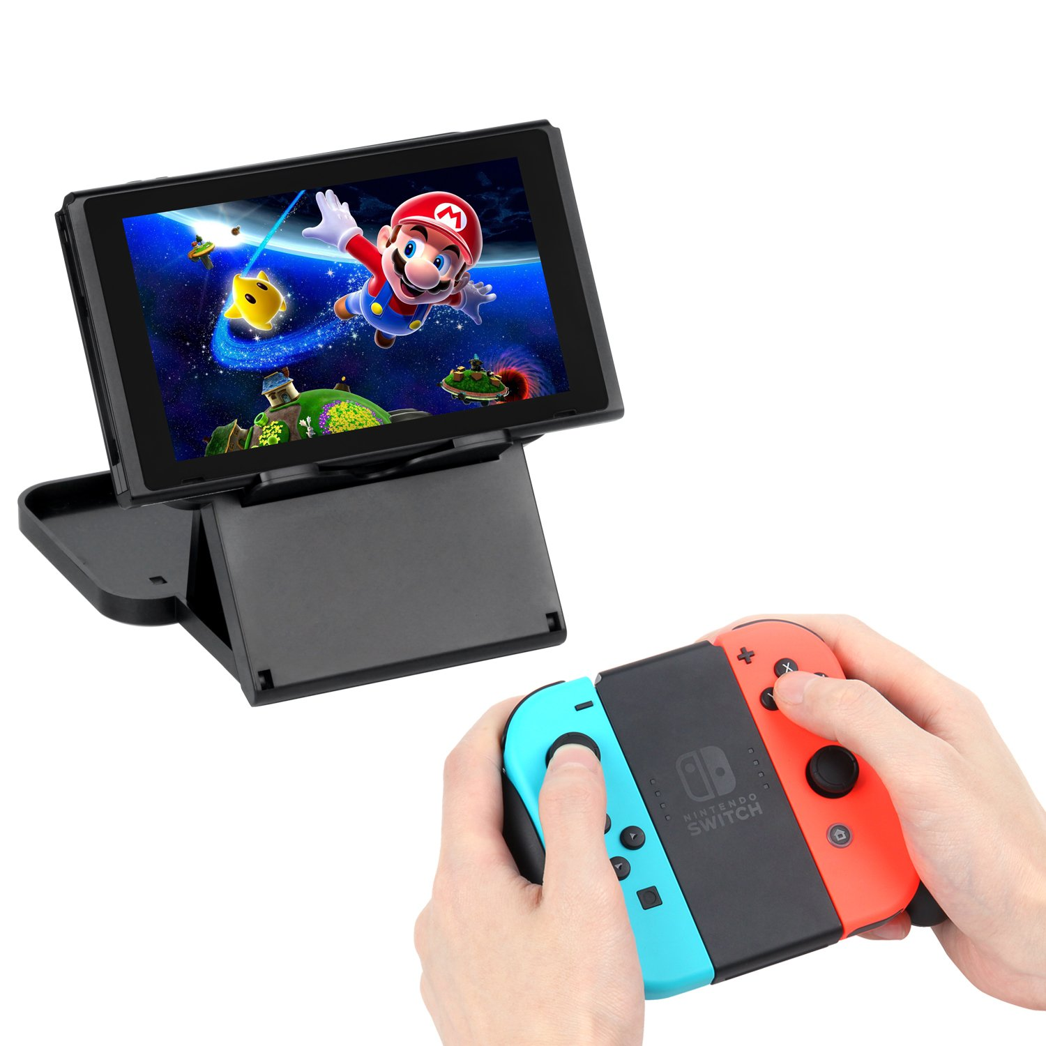 Mibote Play Stand Multi-Angle Playstand Portable Bracket for Nintendo Switch by MIBOTE
