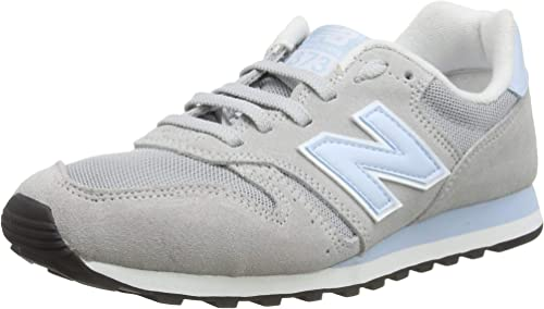 Amazon.com | New Balance Women's 373 Trainers, White (Light ...