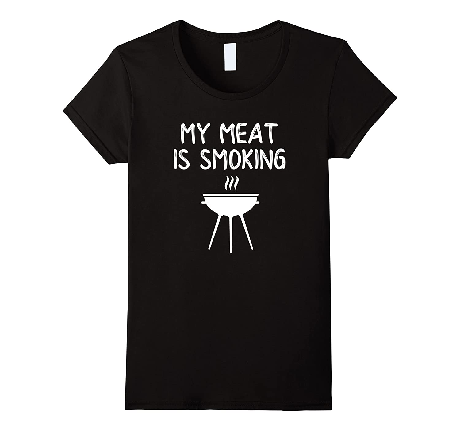 My Meat Is Smoking Shirt Funny BBQ Barbecue Grill For Him