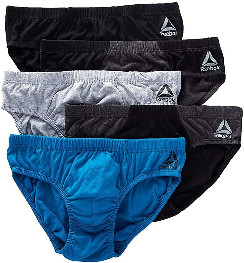 Reebok 5 Pack Underwear Low Rise Brief Men's - Fuse 183