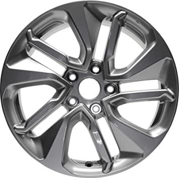 Partsynergy Replacement For New Replica Aluminum Alloy Wheel Rim 19 Inch Fits 2018 Honda Accord 5 Spokes 5-114.3mm