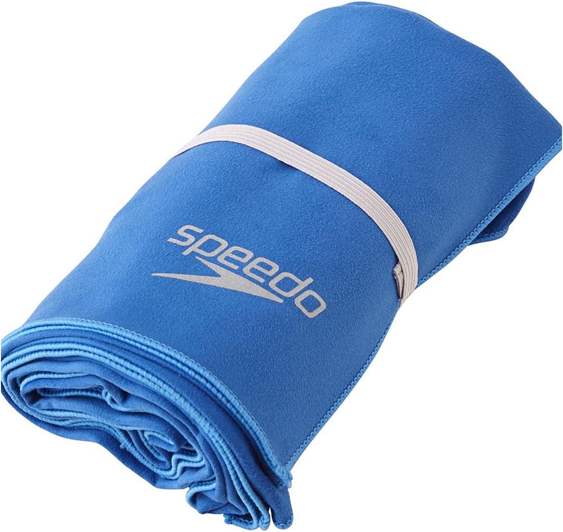 Speedo(スピード) スイムタオル ドライ L 150㎝×80㎝ ループ付き コンパクト収納 SD97T54