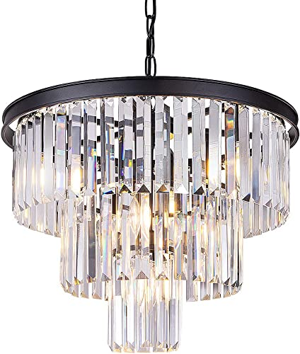 Wellmet 20 inch Crystal Chandelier