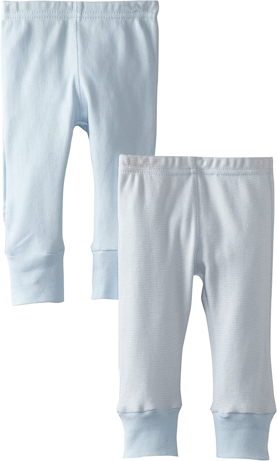 Kushies Baby Everyday Layette 2 Pack Pants Set,