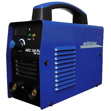 Arc 140 Plus MMA S de mano Soldador inverter tecnología IGBT de Welder Base Azul