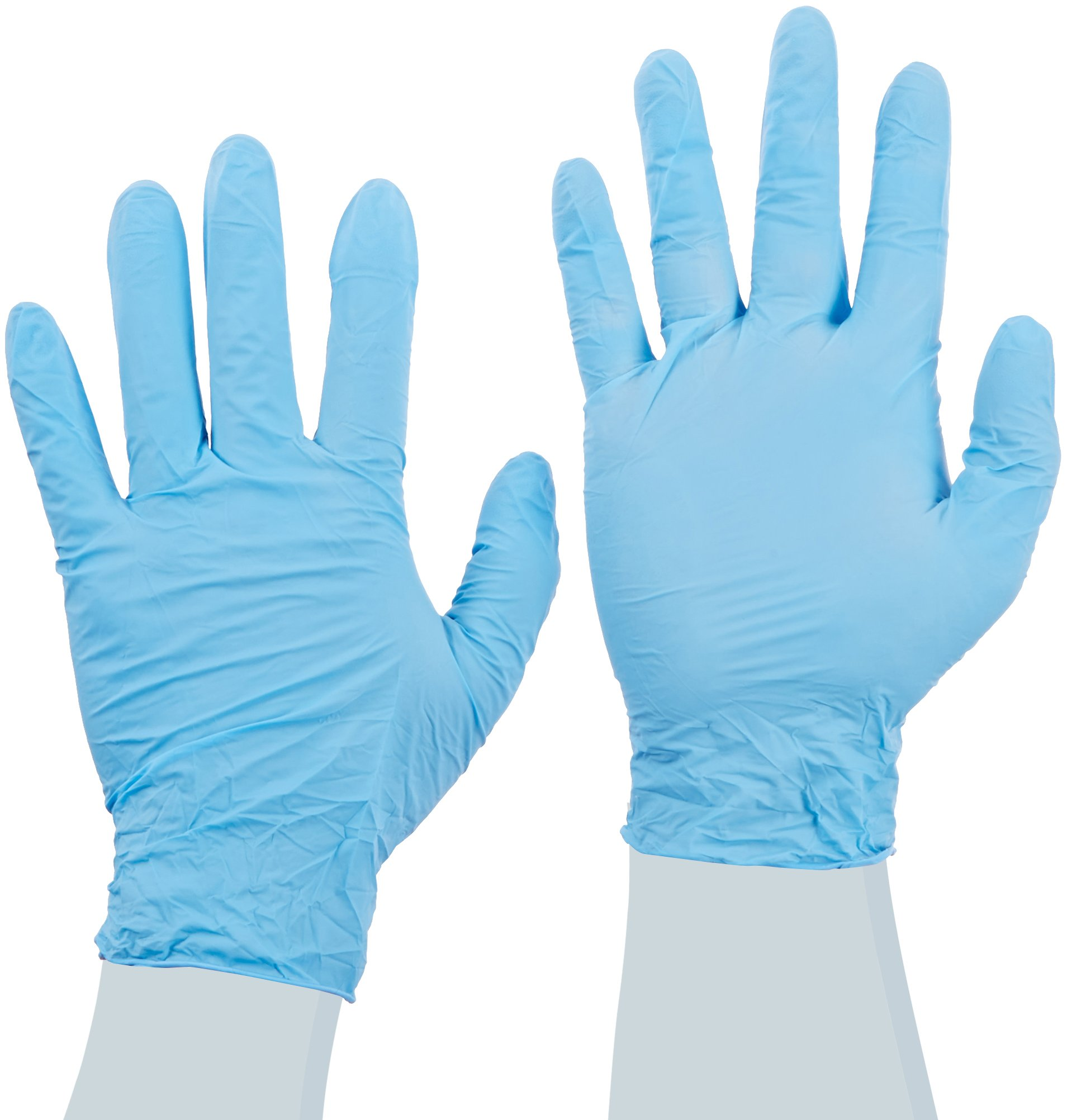 Cardinal Health Esteem 8816NB Nitrile Stretchy Powder Free Examination Gloves, Blue, Size Large (Case of 1500) by Cardinal Health