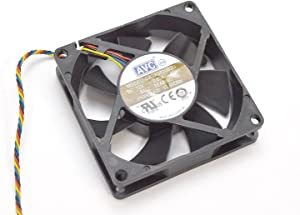 Aquamoon Trading PNXKG Genuine OEM Dell Optiplex XE2 Small Form Factor SFF CPU Processor Cooling Fan 63.66 CFM 5-Pin 4-Wire Connector Model DASA0820B2U