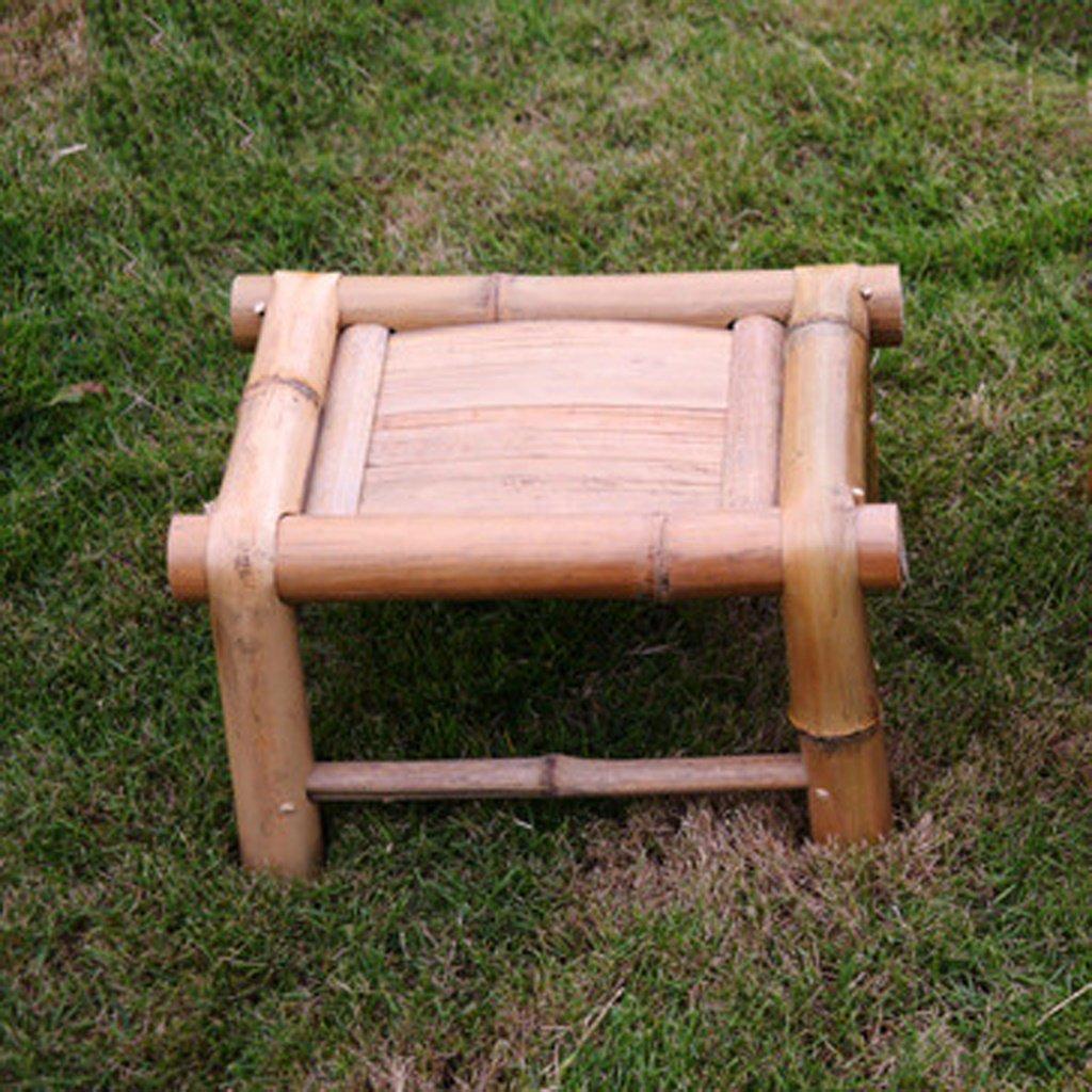 Bamboo Tabouret Banc Cool For Chaussures Tabouret enfant simple Tabouret Chaise bambou industriel petit tabouret Produits en bambou