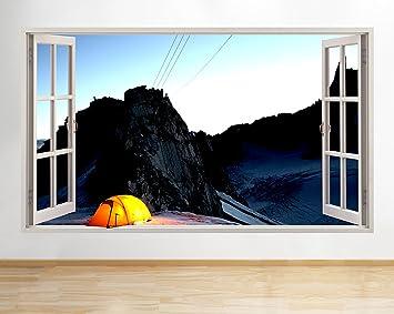 Outdoor Küche Für Camping : Tekkdesigns f gelb zelt camping outdoor fenster wand aufkleber