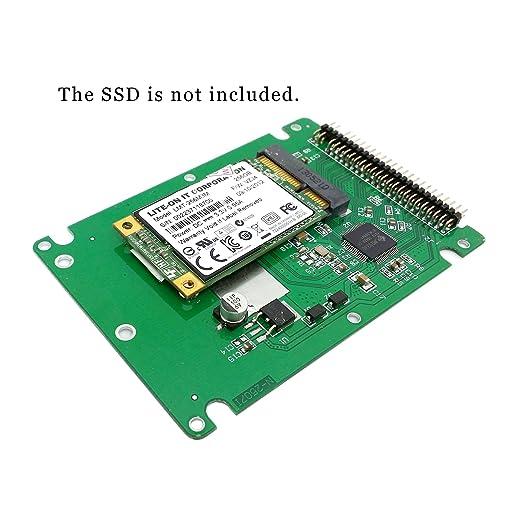 Amazon.com: CY mSATA Mini PCI-E sata ssd a 2.5 inch IDE ...