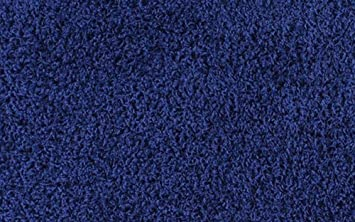 Shaggy Collection Solid Color Shag Area Rugs (Navy Blue, 2u0027 X 3u0027