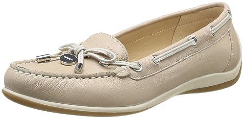 es Amazon Mocasines Textil Yuki D Geox Y Mujer Para Zapatos A 6Fxwfn7Cq