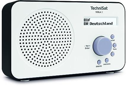 Super TechniSat Viola 2 tragbares DAB Radio (DAB+, UKW, Lautsprecher MP-24