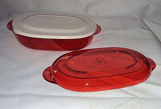 Tupperware Microondas Oval fuente para horno fuente de horno ...