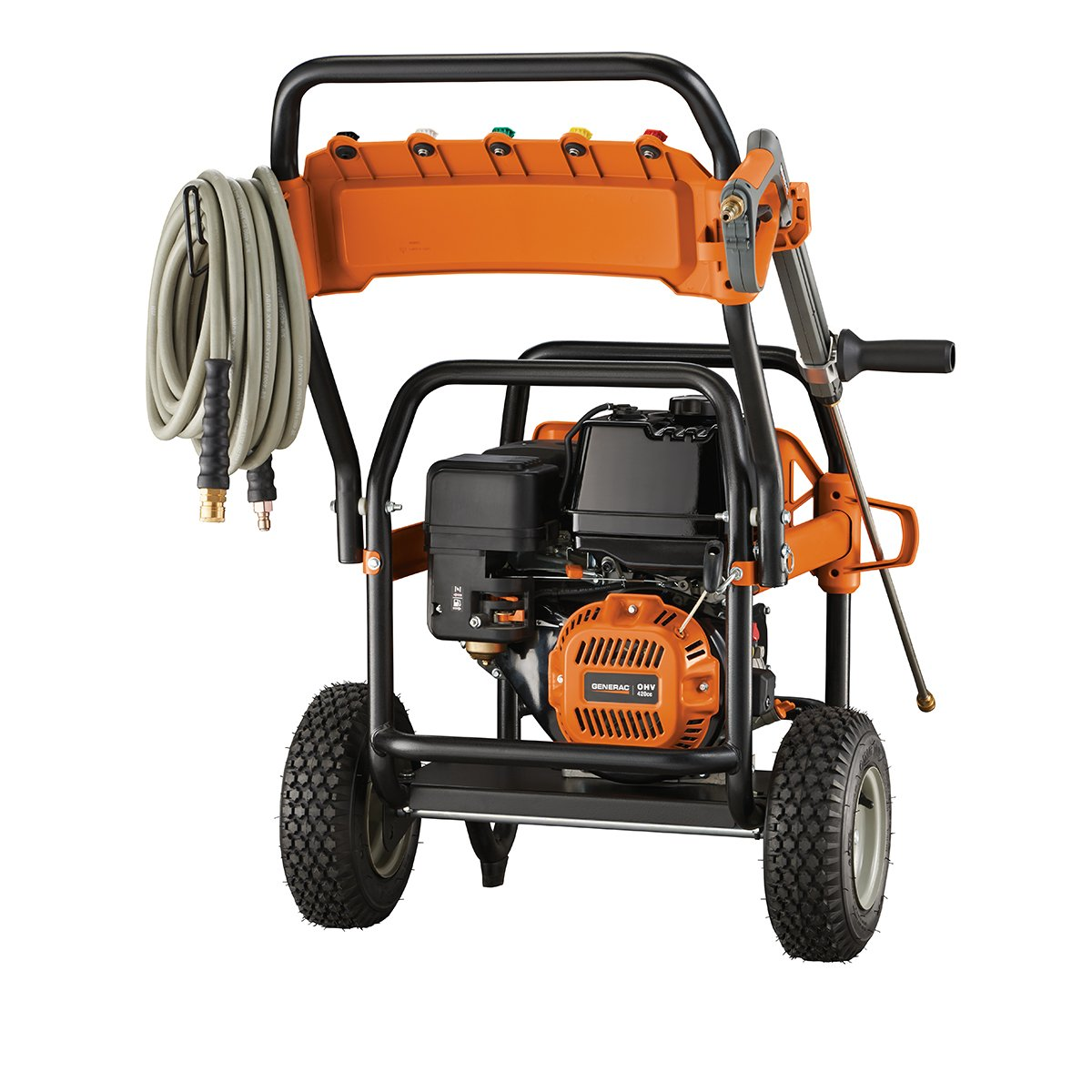 Generac 6565 4 200 Psi 40 Gpm 420cc Ohv Gas Powered Pressure Washer Motor Wiring Diagram Commercial Garden Outdoor