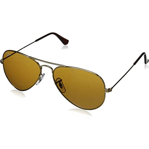 5f10c87ea5 Amazon.com  Authentic Ray-Ban Aviator 3025 RB3025 001 33 55mm Gold ...