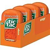 tic tac Mints, Orange, 98 Grams, 4 Count Bottle Packs