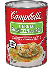 Campbell's Herb Chicken with Rice Soup, 540ml